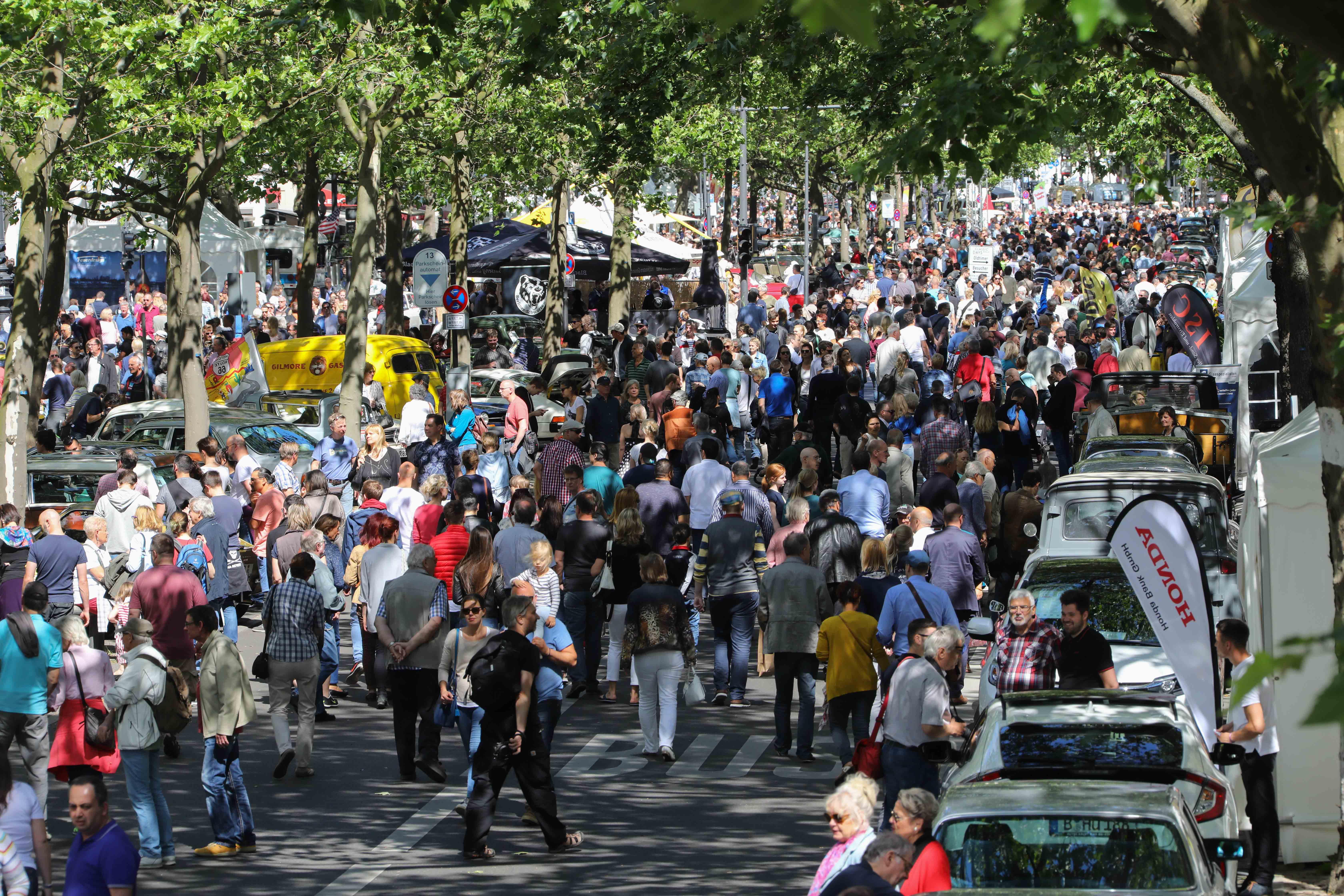 Mehr als 750.000 Besucher auf den Classic Days Berlin