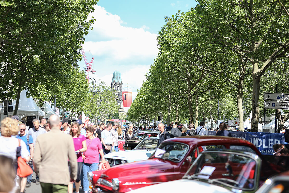 Oldtimer-Event am Kurfürstendamm